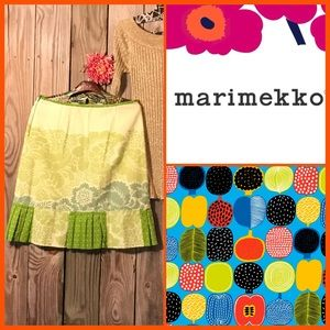 🍄One of a kind Adorable Cotton Skirt by Marimekko